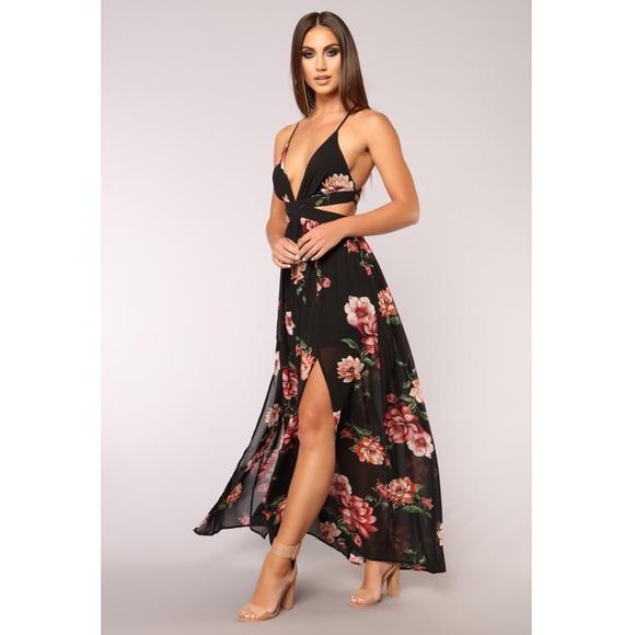 d7dfdebac10 Lanai Maxi Dress - Black Floral